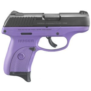 Ruger LC9s Purple Handgun